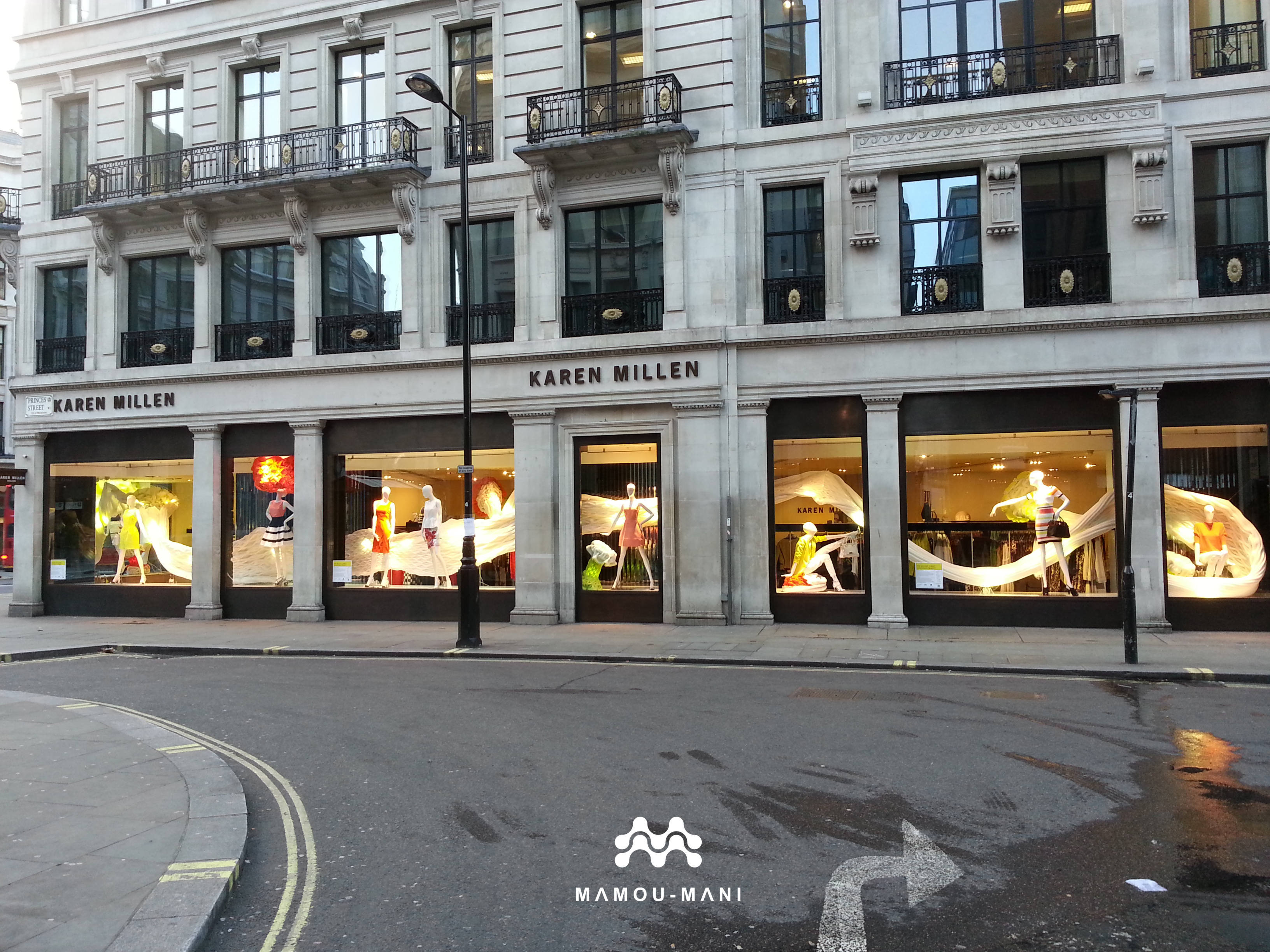 The regent street windows project 2012 - Picture Of The Karen Millen Regent Street Store Windows On Princes Street Mamou Mani