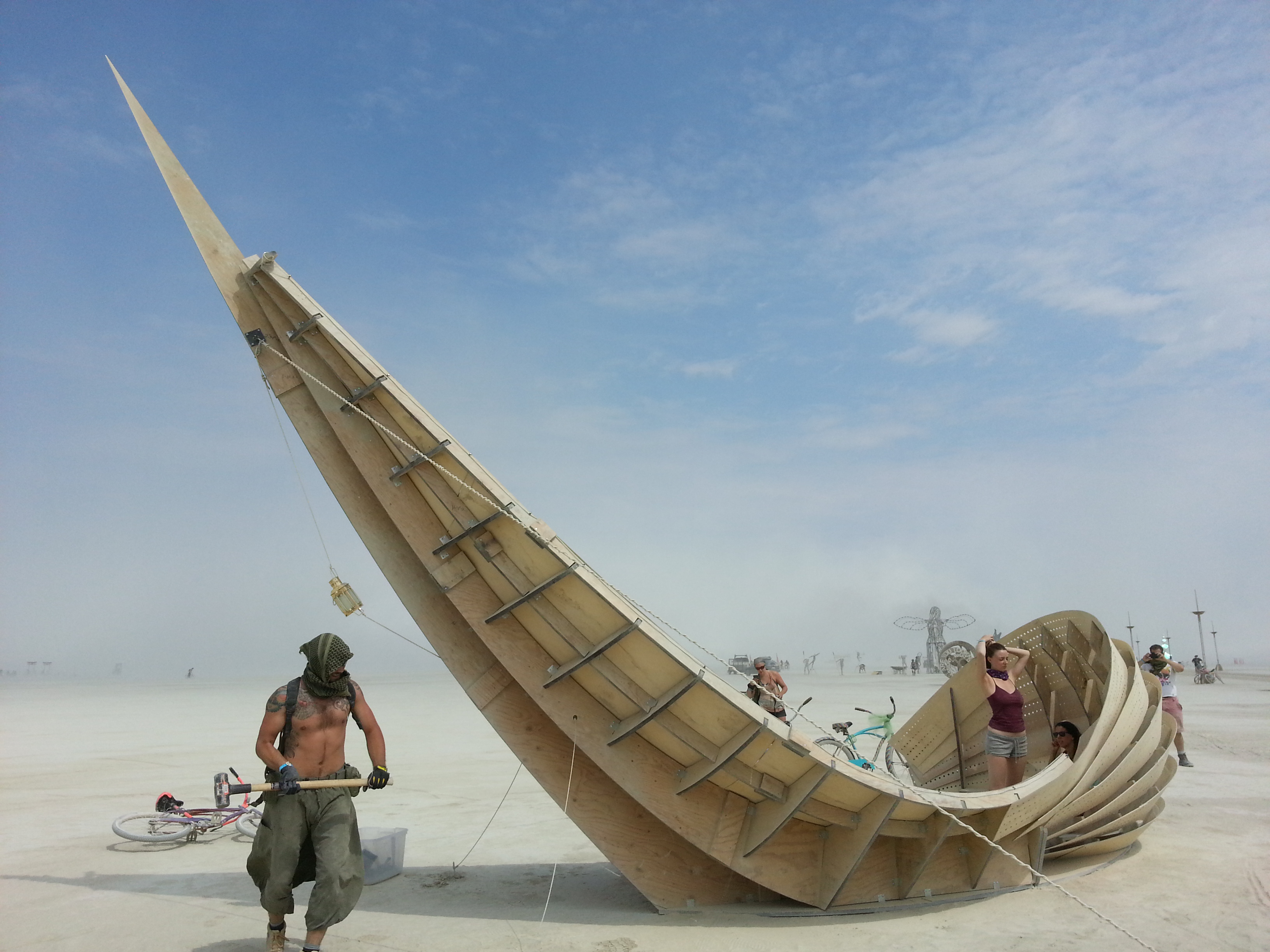 Shipwreck and fractal cult burning man 2013 mamou mani for Domon man 2013